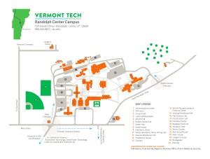 Randolph Center Map